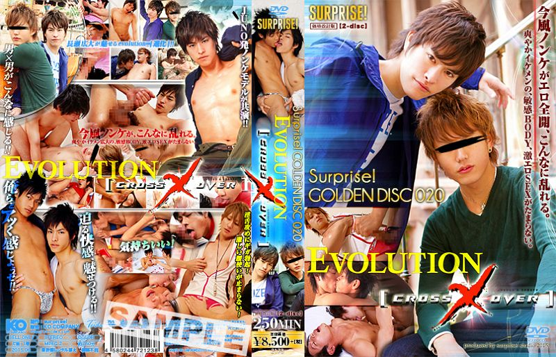 surprise! – surprise! GOLDEN DISC 020 -EVOLUTION&CROSS×OVER-