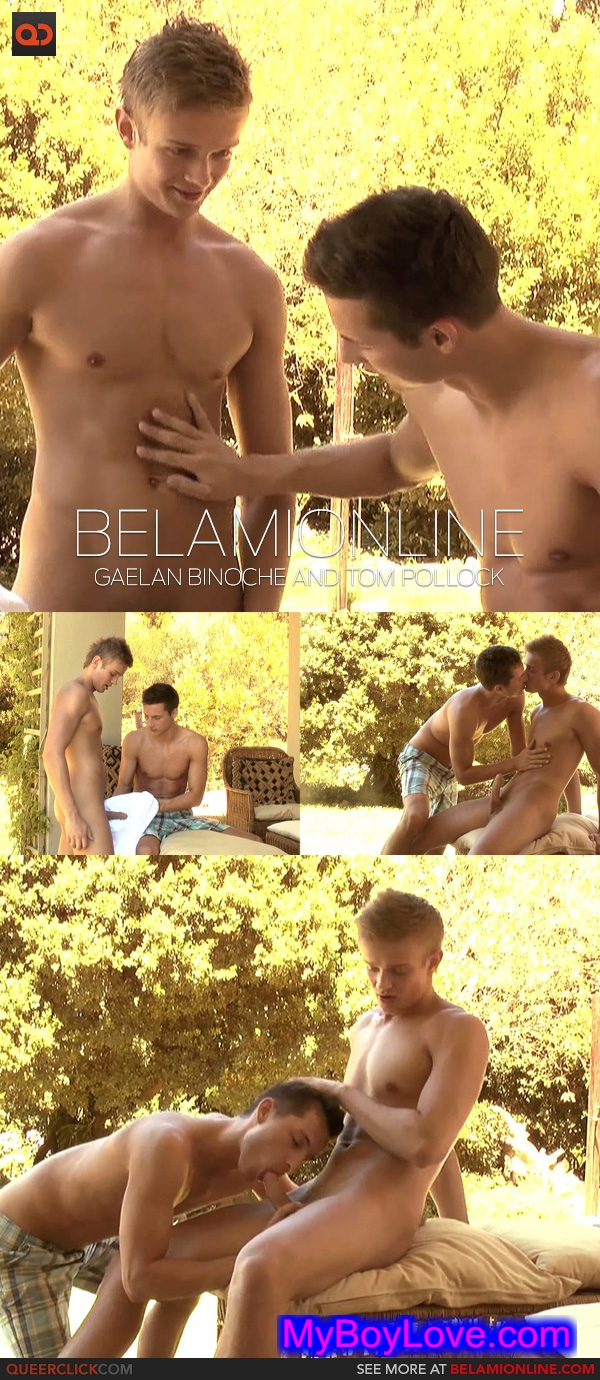 BelAmiOnline – Gaelan Binoche and Tom Pollock