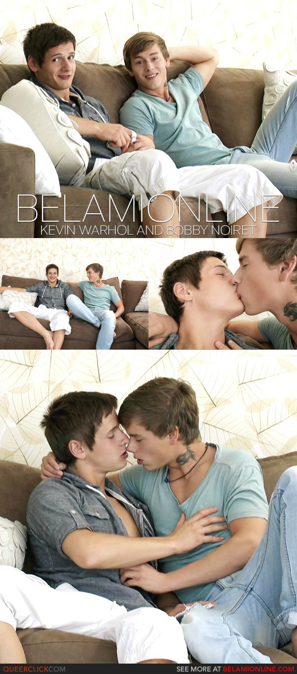 BelAmiOnline – Kevin Warhol and Bobby Noiret