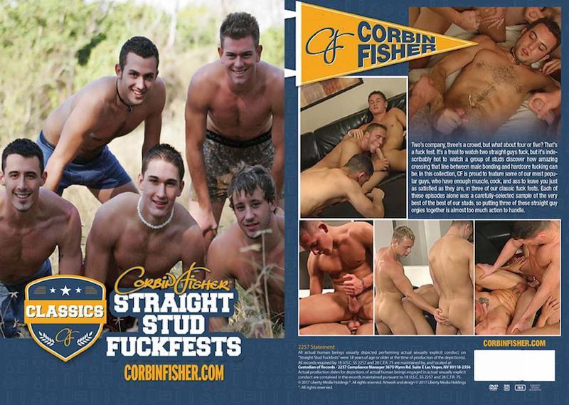 CorbinFisher – Straight Stud Fuckfests