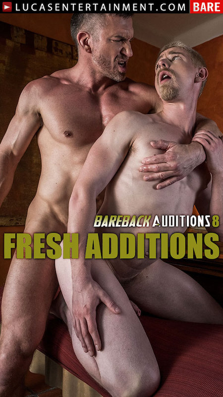 LucasEntertainment – Bareback Auditions 08 – Tomas Brand Tops Cody Winter Bareback