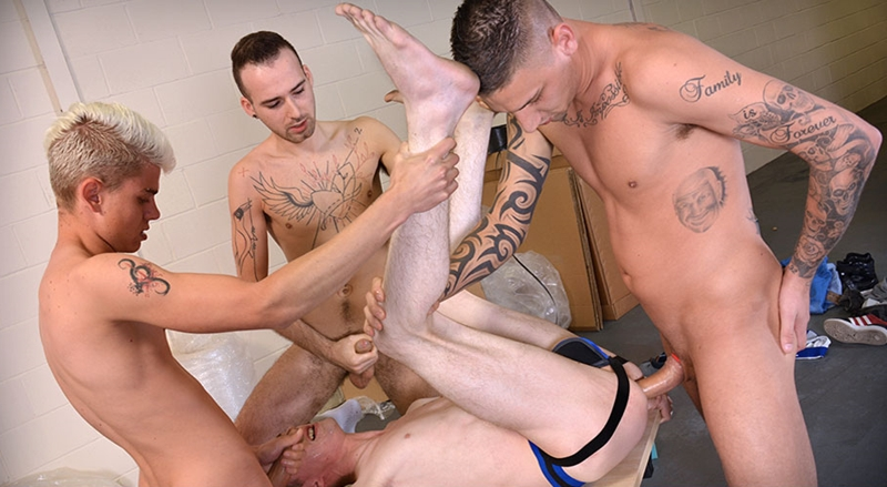 YoungBastards – Koda Ducati Used As Fuck-Thing By Group Of Bare Fuckers