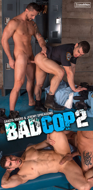 TitanMen – Bad Cop 2: Dakota Rivers And Jeremy Spreadums