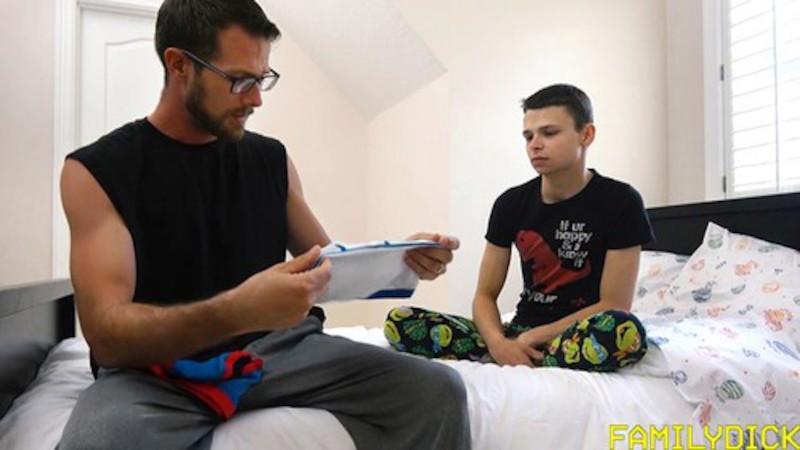 FAMILYDICK – Daddy's Little Boy – Chapter 1 : Big Boy Underwear (Bareback)