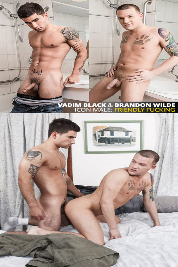 IconMale – Brandon Wilde & Vadim Black – Friendly Fucking
