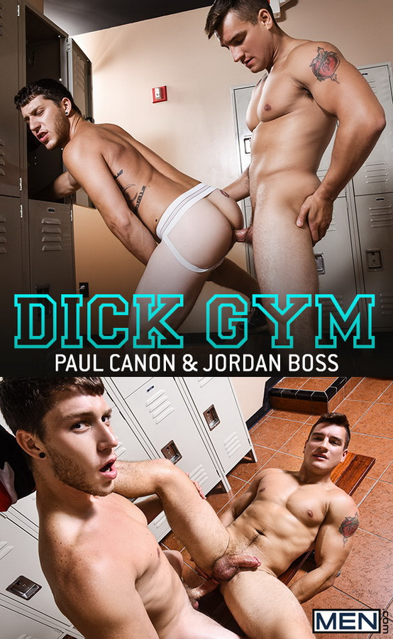 MEN – Jordan Boss & Paul Canon – Dick Gym