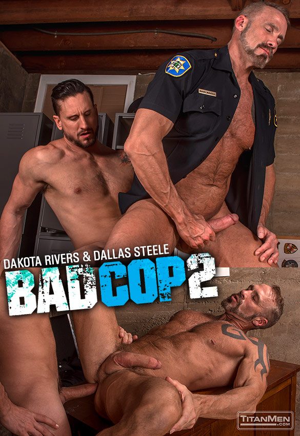 TitanMen – Bad Cop 2 – Dakota Rivers & Dallas Steele