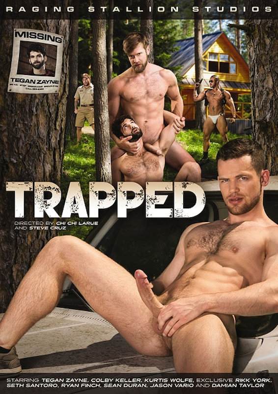 RagingStallion – Trapped, Scene #05: Seth Santoro, Rikk York and Damian Taylor