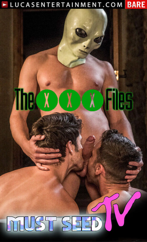 LucasEntertainment – Must Seed TV | The XXX Files Scene 4: Bogdan Gromov, Damon Heart and Devin Franco (Bareback)