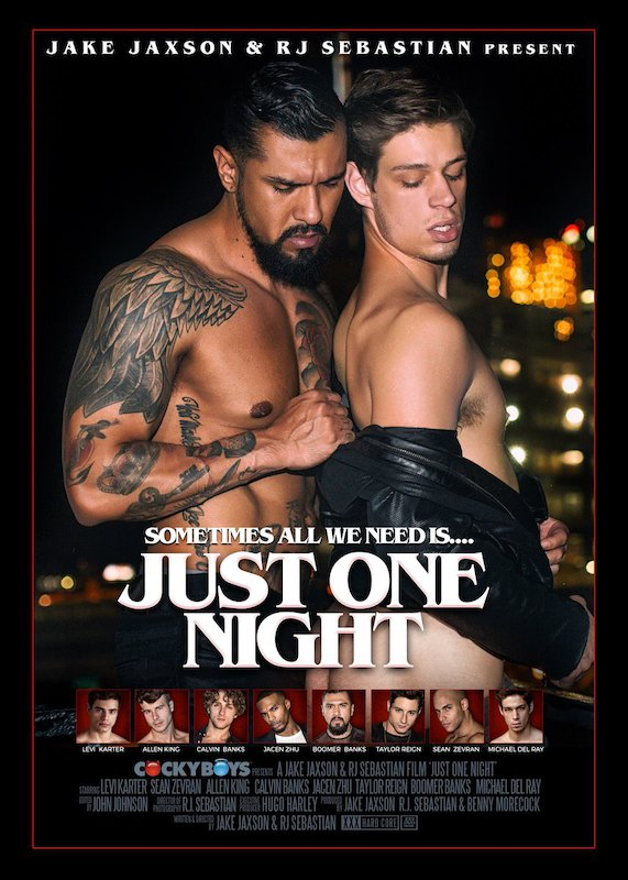 CockyBoys – JUST ONE NIGHT: Boomer Banks & Michael DelRay