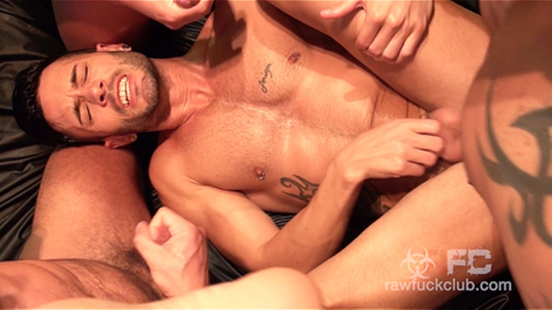 RawFuckClub – Andy Star Gets Gangbanged (Bareback)