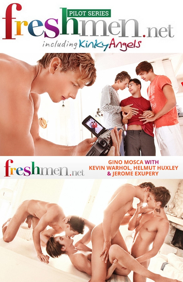 Freshmen Issue 52 | Gino-Kevin-Helmut-Jerome Part 1-2