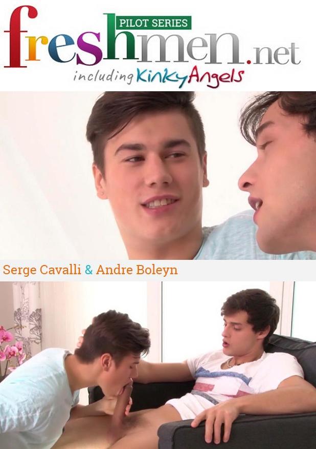 Freshmen Issue 54 | Serge Cavalli & Andre Boleyn