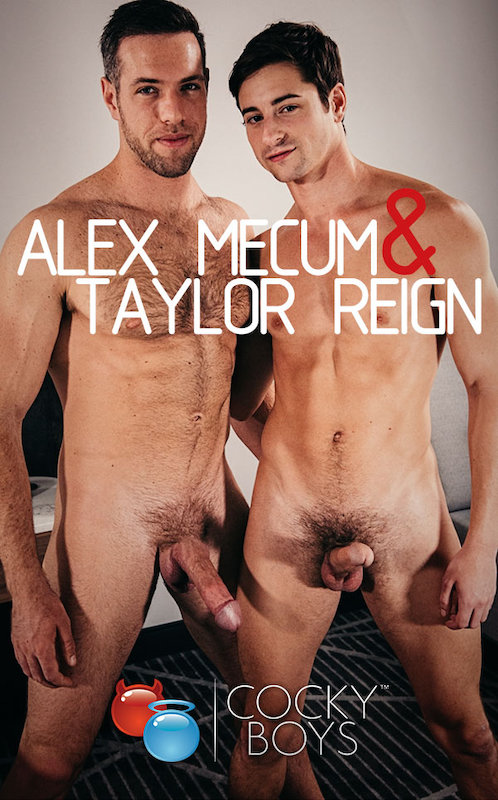 CockyBoys – Alex Mecum & Taylor Reign