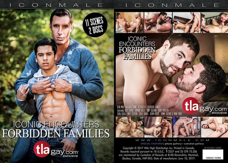 IconMale – Iconic Encounters – Forbidden Families / 2017