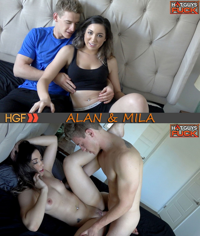 HotGuysFuck – Blonde Uncut Jock Alan Cooper Fucks Mila Fleet
