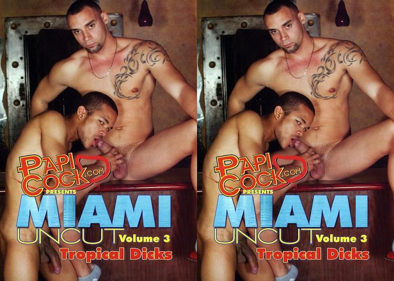 PapiCock – Miami Uncut Volume 3 – Tropical Dicks