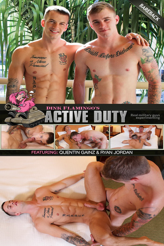 ActiveDuty – Quentin Gainz & Ryan Jordan (Bareback)