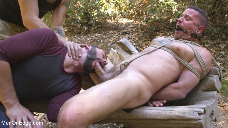 MenOnEdge – Hard Woods: Max Cameron Suspended and Tormented in California Redwoods