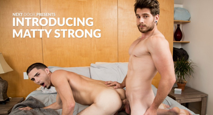 NextDoorBuddies – Introducing Matty Strong (Bareback)