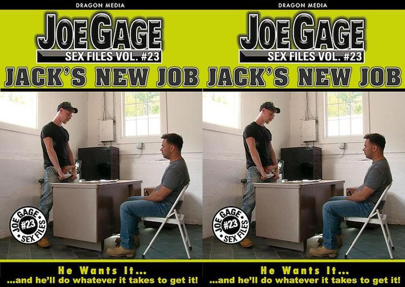 DragonMedia – Joe Gage Sex Files 23 – Jack's New Job