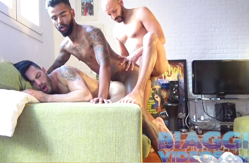 BiaggiVideos – Latin3way – Antonio Biaggi, Bruno Matarazzo & Andy Star
