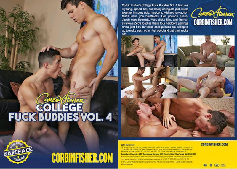 CorbinFisher – College Fuck Buddies 4 [2017]