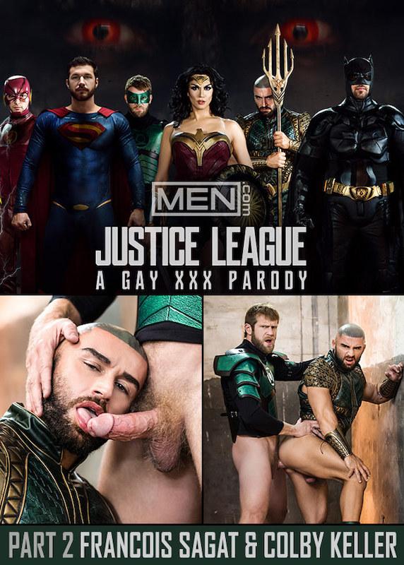 MEN – Justice League : A Gay XXX Parody Part 2