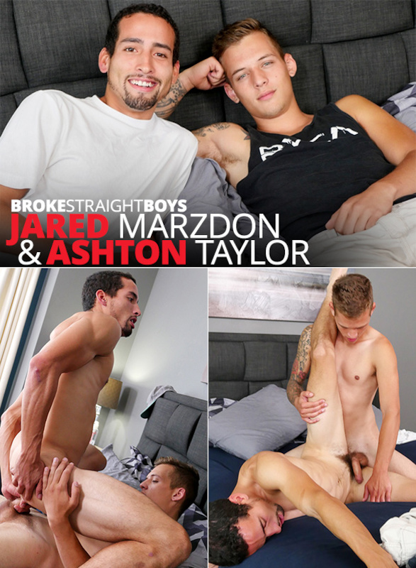 BrokeStraightBoys – Jared's Ass Stretched By Ashton