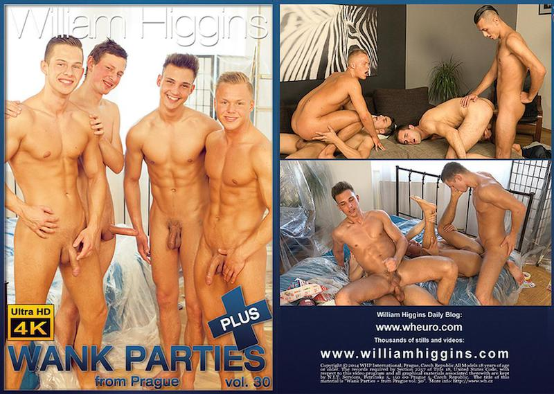 WilliamHiggins – Wank Parties Plus From Prague 30 / 2017