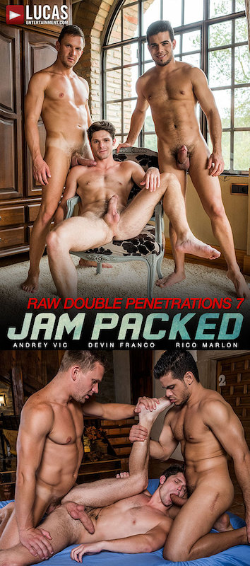 LucasEntertainment – Raw Double-Penetrations | Jam Packed Scene 3 (Bareback)