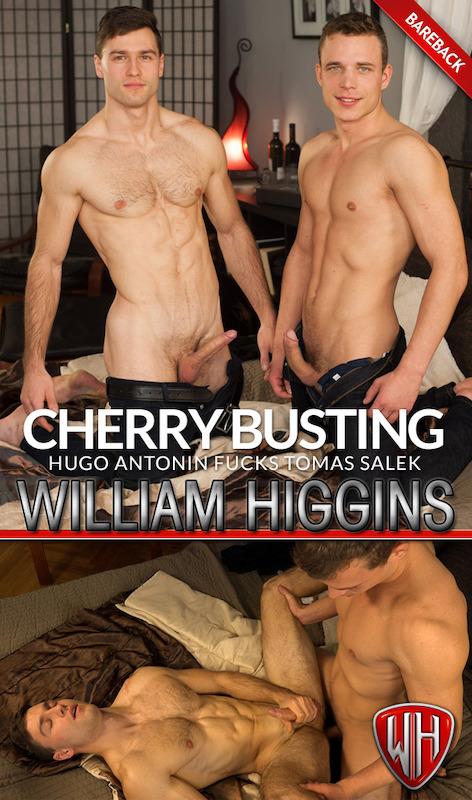 WilliamHiggins – Tomas & Hugo RAW – CHERRY BUSTING (Bareback)