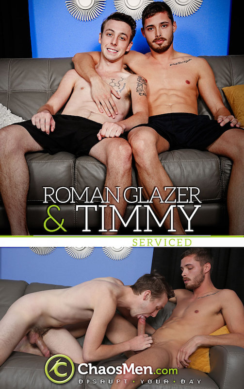 ChaosMen – Roman & Timmy Serviced