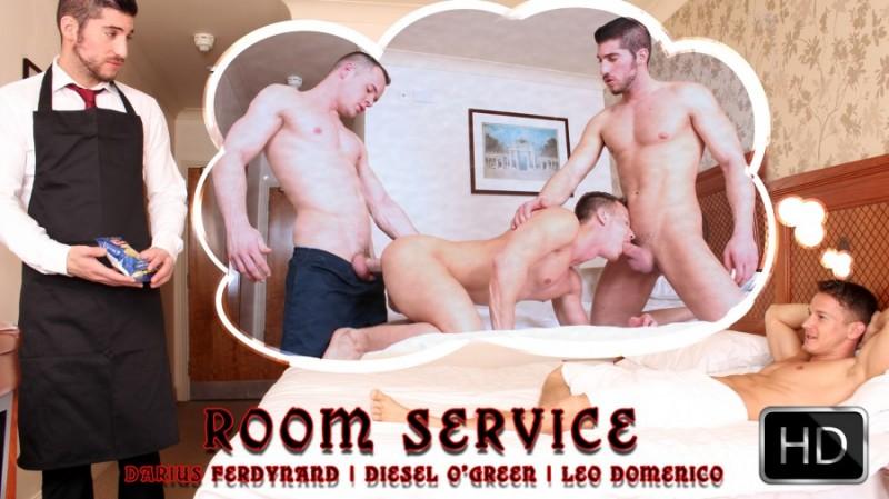 UKHotJocks – Darius Ferdynand, Diesel O'Green & Leo Domenico – Room Service