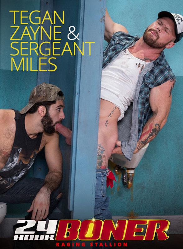 RagingStallion – Tegan Zayne & Sergeant Miles – 24 Hour Boner