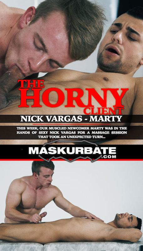 MaskurBate – The Horny Client, Scene #01