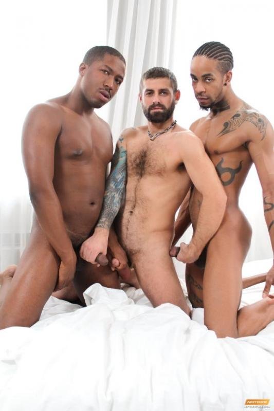 NextDoorEbony – JP Richards, Jin Powers & Jon Sheild – Triple Take