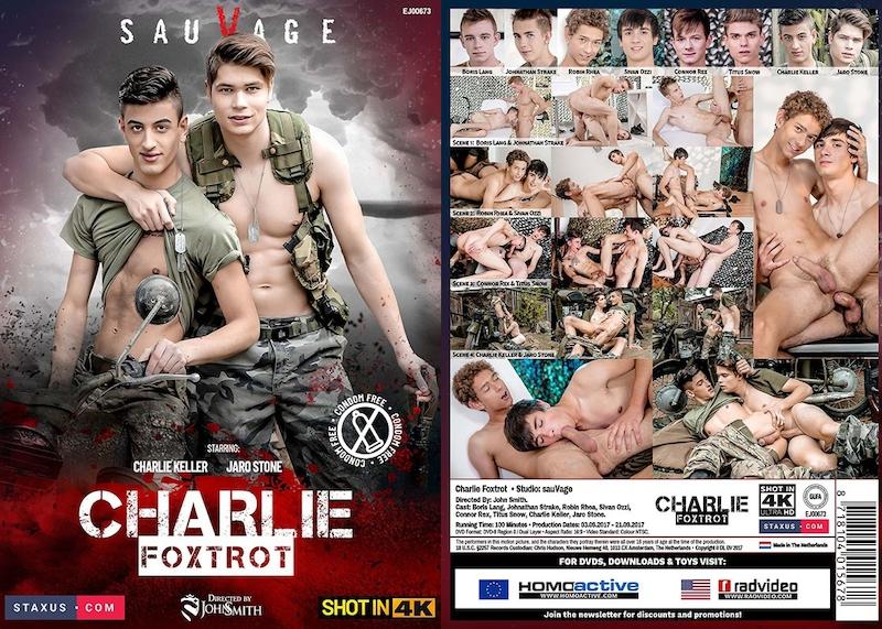 Staxus – Charlie Foxtrot (Bareback) / 2017