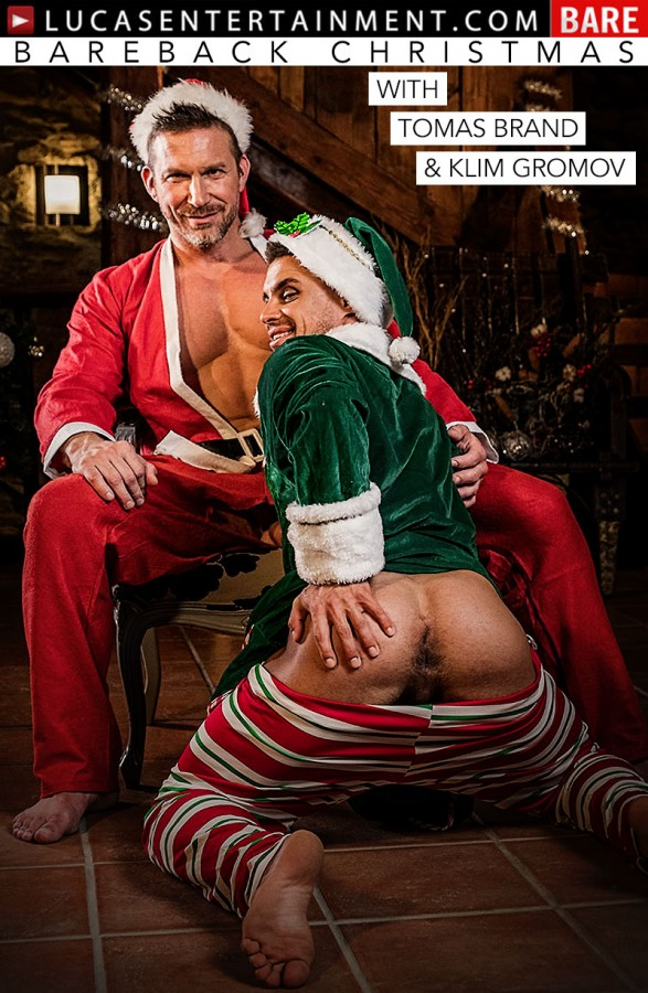 LucasEntertainment – Tomas Brand & Klim Gromov – Bareback Christmas