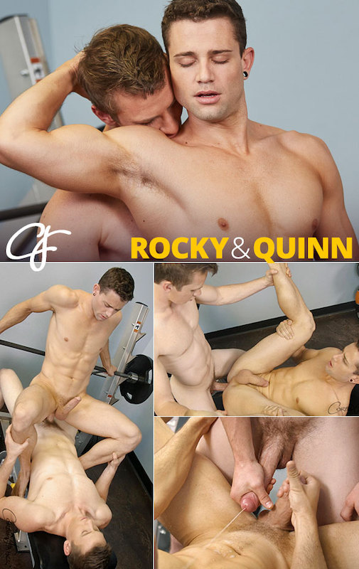 CorbinFisher – Rocky Works Out Quinn (Bareback)
