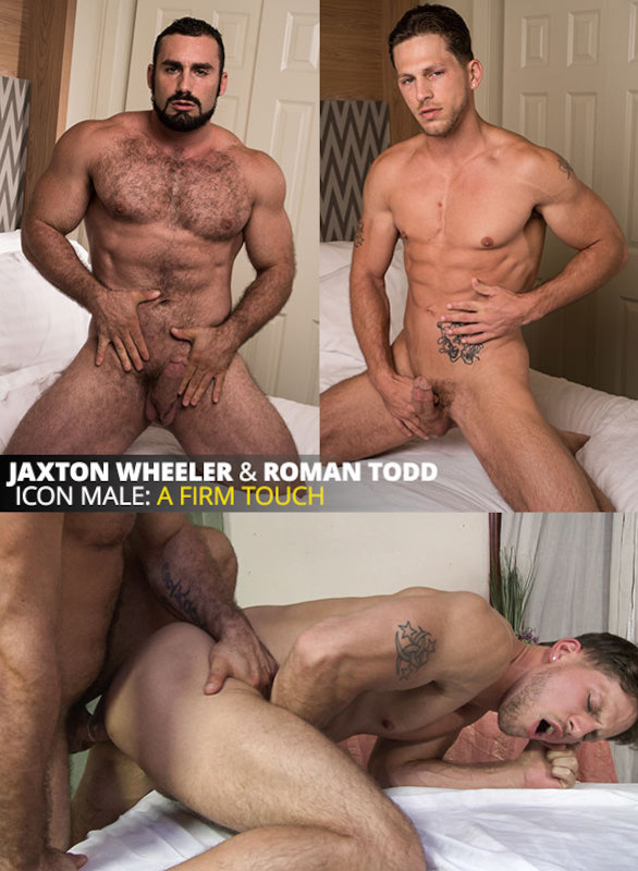 IconMale – Gay Massage House | Firm Touch : IconMale: Jaxton Wheeler Fucks Roman Todd