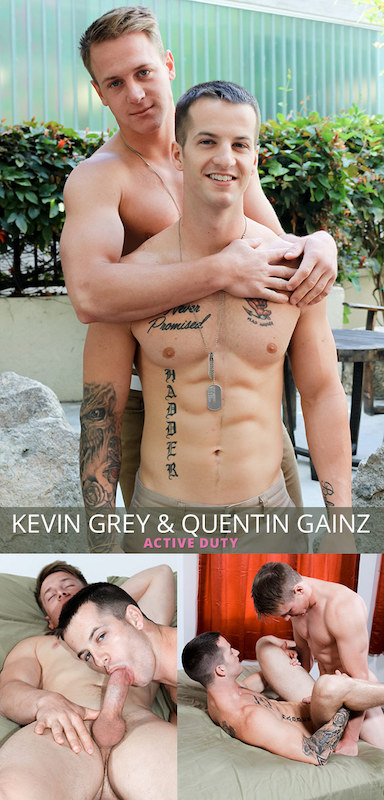 ActiveDuty – Kevin Grey & Quentin Gainz (Bareback)