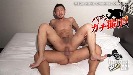 HUNK CHANNEL – BKG-0015 – 硬魔羅バキが容赦ないガチのハメ撮りREAL FUCK!!!短髪髭のカッコカワイイ淫乱君登場!!イク時のエロ顔、堪りません!!!