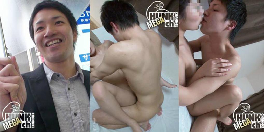 HUNK CHANNEL – BOY-097 – 爽やか大学生を突撃逆ナンパ!!
