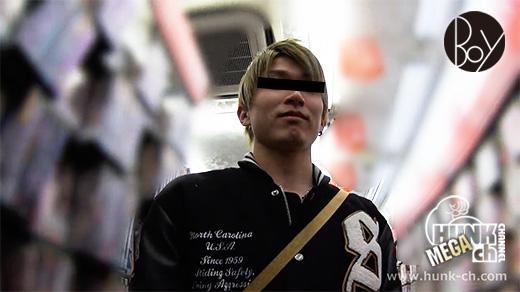 HUNK CHANNEL – BOY-381 – 可愛い系大学生をビデボに連れ込む!