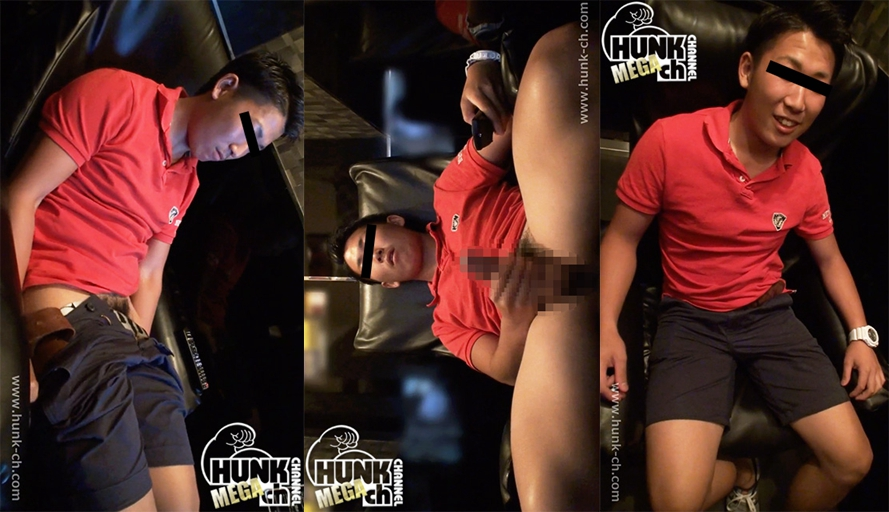 HUNK CHANNEL – BOY-396 – あっさり顔の大学生をビデボに連れ込む!