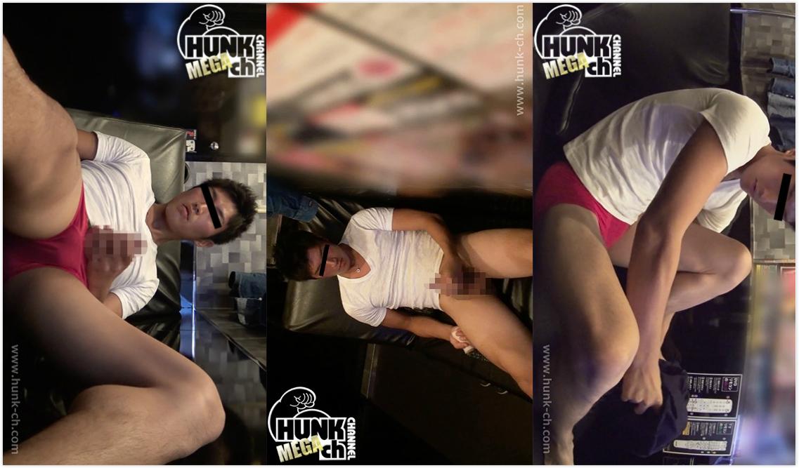 HUNK CHANNEL – BOY-378 – 爽やかイケメンをビデボに連れ込む!