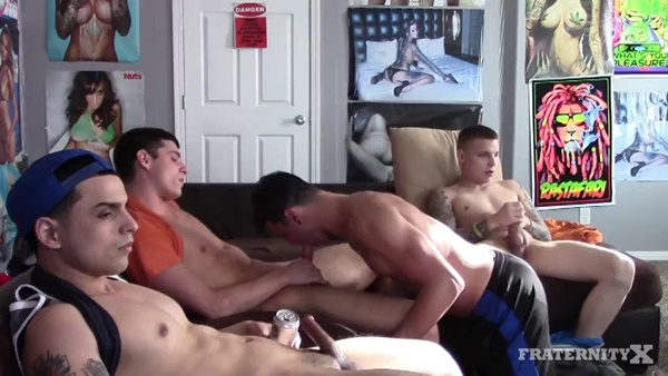 FraternityX – AFTERNOON FOOTBALL BANG