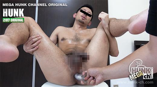 HUNK CHANNEL – GV-OAV595 – 太デカマラ毛深い晶(しょう)くん29歳、男責めにこんなに感じるなんて…!!!