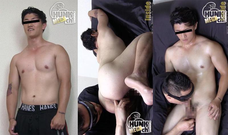 HUNK CHANNEL – INS-0253 – 美体系ノンケ君をビデオ出演交渉成立!!やっぱりケツ穴は恥ずかしかった。